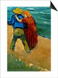 Eglogue En Provence - Un Couple D'Amoureux, 1888 Prints by Vincent van Gogh