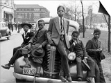 Southside Boys, Chicago, c.1941 Plakat af Russell Lee