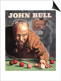 John Bull, Snooker Billiards Pipes Games Magazine, UK, 1946 Posters