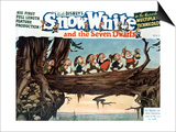 Snow White And the Seven Dwarfs, 1937, Directed by Walt Disney Posters