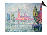 Venise, Saint-Georges, 1908 Prints by Paul Signac