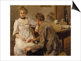 After Work, 1900/01 Prints by Max Slevogt
