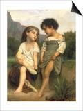 Les Jeunes Baigneuses, 1879 Prints by William Adolphe Bouguereau