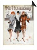 La Vie Parisienne, Magazine Cover, France, 1928 Posters