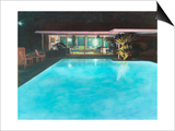 Neutra Pool House Prints by Theo Westenberger