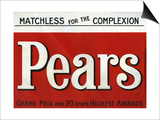 Pears, Magazine Advertisement, UK, 1907 Posters