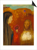 Christ and the Samaritan Woman Art by Odilon Redon