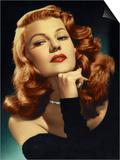 "Rita Hayworth. ""Gilda"" 1946, Directed by Charles Vidor Posters"