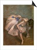 Seated Dancer, Ca. 1881-1883 Art by Edgar Degas