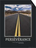Perseverance (French Translation) Posters
