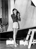 "Audrey Hepburn. ""Sabrina Fair"" 1954, ""Sabrina"" Directed by Billy Wilder Print"
