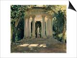 La Villa Adriana De Tivoli (Roma), 1926 Prints by Jose Moreno carbonero