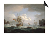 Plymouth Sound, 1829 Prints by Thomas Luny