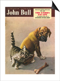John Bull, Bones Magazine, UK, 1950 Prints