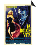 "The Sweet Life, 1960 ""La Dolce Vita"" Directed by Federico Fellini Prints"