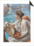 A Roman Boat Race, 1889 Posters by Edward John Poynter