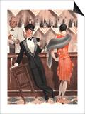 Le Sourire, Cocktails Magazine, France, 1920 Prints