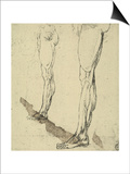 Study of Legs, Drawing, Royal Library, Windsor Prints by  Leonardo da Vinci