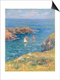 Ouessant, Jour de Calme, 1905 Art by Henry Moret