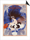 La vie Parisienne, Vald'es, 1920, France Prints