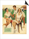 Tennis, Maudson, 1953, UK Poster