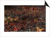 Die Schlacht Bei Issus 333 V.Chr. (Alexanderschlacht), 1529. Detail Posters by Albrecht Altdorfer