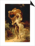 The Storm Print by Pierre-Auguste Cot