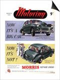 Morris Minor, UK, 1950 Posters