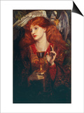 The Damsel of the Sanct Grail, 1874 Prints by Dante Gabriel Rossetti