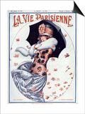 La Vie Parisienne, Maurice Milliere, 1923, France Print
