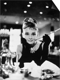"Audrey Hepburn. ""Breakfast At Tiffany's"" 1961, Directed by Blake Edwards Prints"