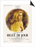 "Beautiful of the Day, 1967, ""Belle De Jour"" Directed by Luis Buñuel Poster"