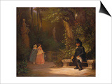The Widower, 1844 Posters by Carl Spitzweg