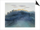 Clouds at Dusk Prints by Yunlan He