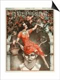 La Vie Parisienne, Cheri Herouard, 1924, France Posters
