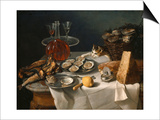 Still Life with Cat Art by Alexandre-Francois Desportes