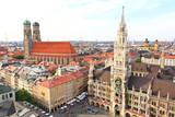 The Aerial View of Munich City Center Posters by  Gary718