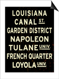 New Orleans Sign Print