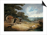 Partridge Shooting at Six Mile Bottom, 1833 Prints by John Frederick Herring I