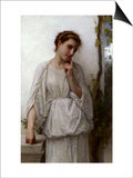 Reverie, 1894 Posters by William Adolphe Bouguereau