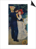 A Dance in the Country, 1883 Print by Pierre-Auguste Renoir