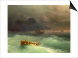 The Shipwreck, 1873 Posters by Konstantinovich Ivan Aiwassowskij