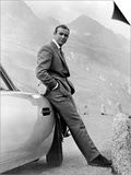 "Sean Connery. ""007, James Bond: Goldfinger"" 1964, ""Goldfinger"" Directed by Guy Hamilton Prints"