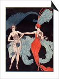 La Vie Parisienne, G Barbier, 1918, France Art