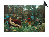 The Dream, 1910 Posters by Henri Rousseau