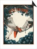 La Vie Parisienne, Georges Pavis, 1924, France Print