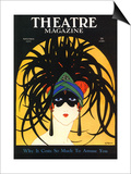 Theatre, Masks Magazine, USA, 1920 Prints
