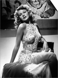 "Rita Hayworth. ""Tuesday's Orchids"" 1942, ""You Were Never Lovelier"" Directed by William A. Seiter Posters"