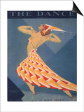 The Dance, Art Deco Magazine, USA, 1920 Posters