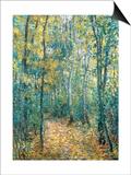Sous-Bois, 1876 Art by Claude Monet